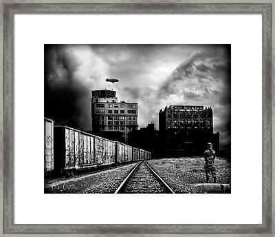 Us And Them Framed Print by Bob Orsillo