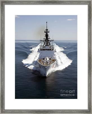 U.s. Coast Guard Cutter Waesche Framed Print by Stocktrek Images