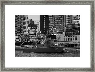 Us Navy Swift Boat Framed Print by Tommy Anderson