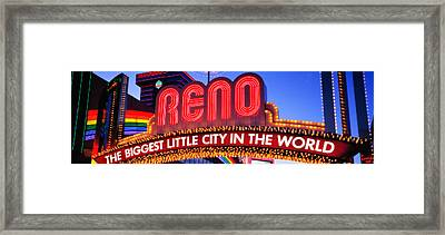 Us, Nevada, Reno Framed Print by Panoramic Images