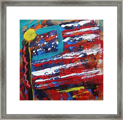 Us Of A Framed Print by Mary Carol Williams