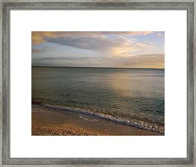 Usa, Florida, Gulf Of Mexico, Sanibel Framed Print by Panoramic Images