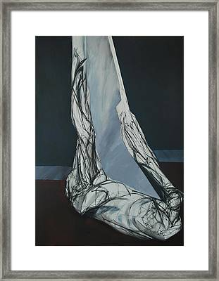 Usjek Framed Print by Mirjana Lucic