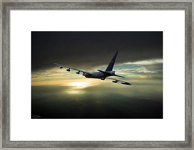 Utapao Queen Diamond Lil Framed Print by Peter Chilelli