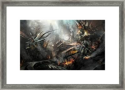 Utherworlds Ashes Framed Print by Philip Straub
