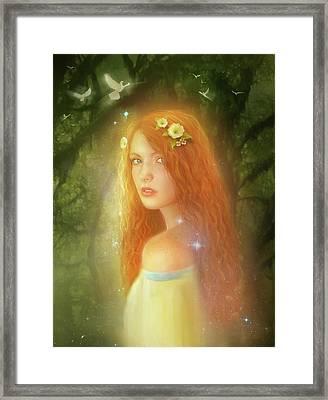 Utherworlds Lealinnia Framed Print by Philip Straub