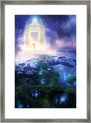 Utherworlds Passage To Hope Framed Print by Philip Straub
