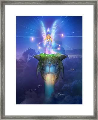 Utherworlds Stargazer Framed Print by Philip Straub