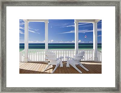 Utopia Framed Print by Janet Fikar