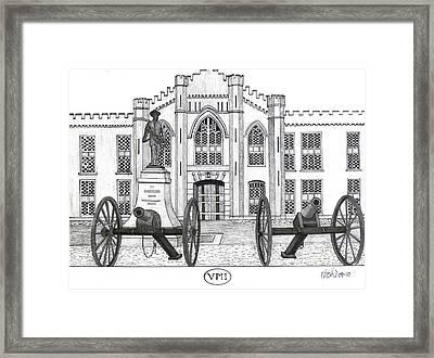 V M I  Framed Print by Frederic Kohli