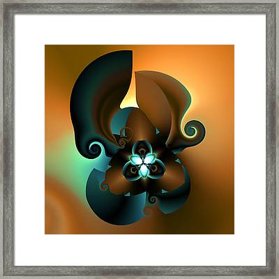 V Plate 252 Framed Print by Claude McCoy