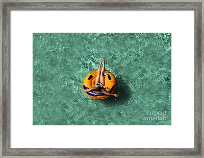 Vacation Framed Print by David Lee Thompson