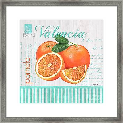 Valencia 1 Framed Print by Debbie DeWitt