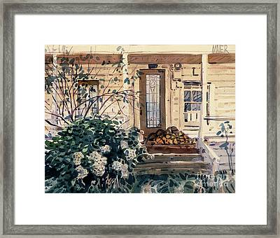 Valley Ford House Framed Print by Donald Maier