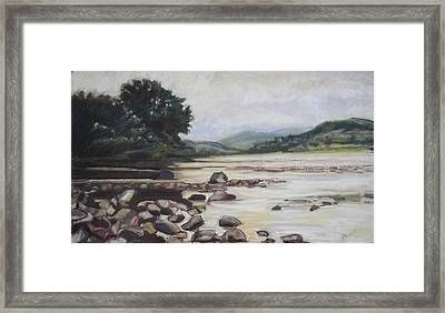 Valley Gloaming Framed Print by Grace Keown
