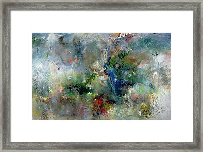 Valley Of The Waterfalls Framed Print by Jane Deakin