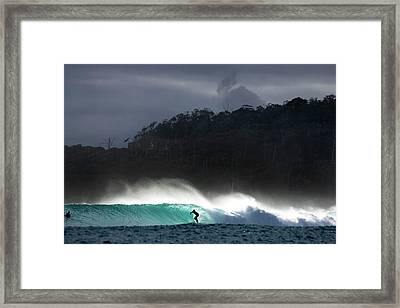 Van Diemen Dream Framed Print by Sean Davey