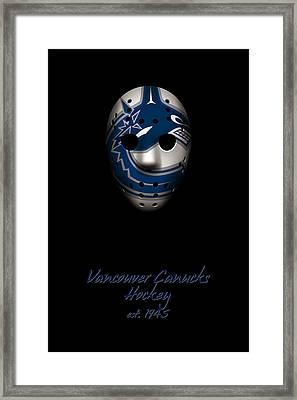 Vancouver Canucks Established Framed Print by Joe Hamilton