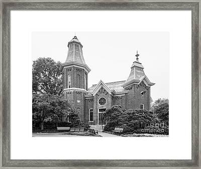 Vanderbilt University Fine Arts Gallery Framed Print by University Icons