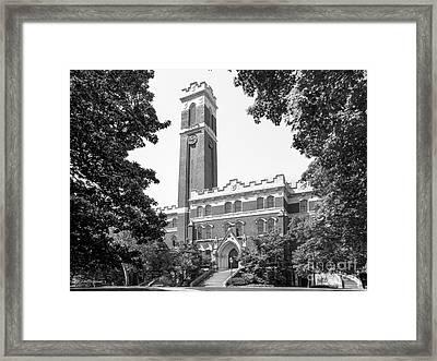 Vanderbilt University Kirkland Hall Framed Print by University Icons