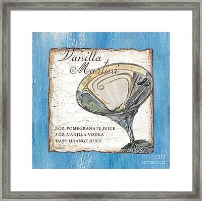 Vanilla Martini Framed Print by Debbie DeWitt