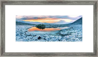 Vanilla Sunset Framed Print by Az Jackson