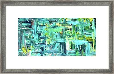 Vanishing Jungle Framed Print by Jenny Miller