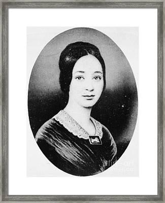 Varina Howell Davis (1826-1906) Framed Print by Granger