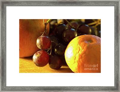 Various Fruit Framed Print by Brian Roscorla