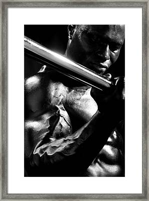Vascularity Framed Print by Val Black Russian Tourchin