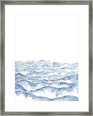 Vast Framed Print by Emily Magone
