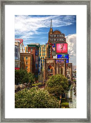 Vegas Baby Framed Print by James Marvin Phelps