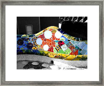 Selective Coloring Framed Print featuring the photograph Vein by Roberto Alamino