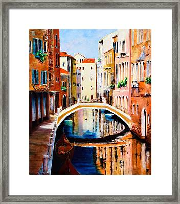 Venice 9 Framed Print by Michael McGrath