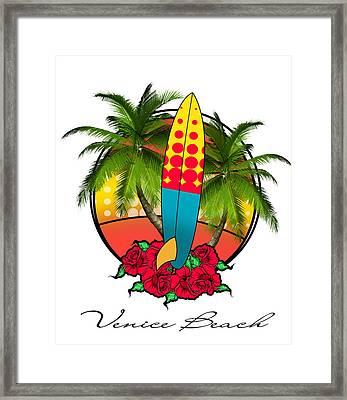 Venice Beach Framed Print by Mark Ashkenazi