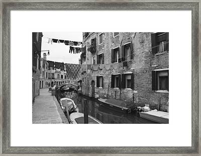 Venice Framed Print by Frank Tschakert