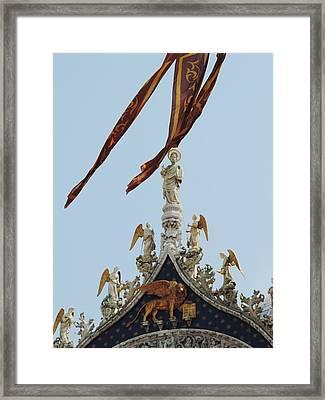 Venice Framed Print by Leena Kewlani