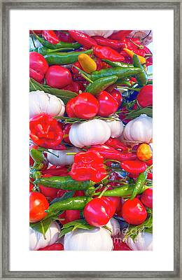 Venice Market Goodies Framed Print by Heiko Koehrer-Wagner
