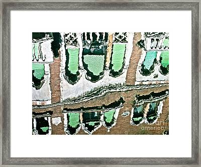 Venice Upside Down 2 Framed Print by Heiko Koehrer-Wagner