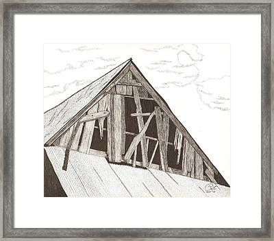 Ventilated Framed Print by Pat Price