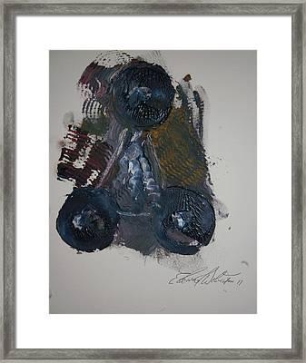 Venus Rover Framed Print by Edward Wolverton