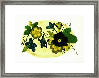 Veranda Framed Print by Kathie McCurdy