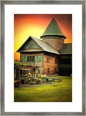 Vermont Landmark Framed Print by Anthony Caruso