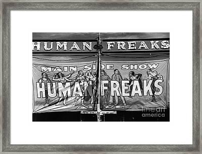 Vermont: Sideshow, 1941 Framed Print by Granger