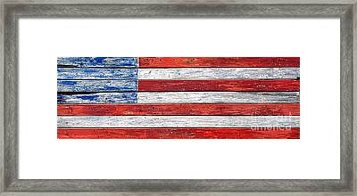 Very Old Glory Framed Print by Olivier Le Queinec