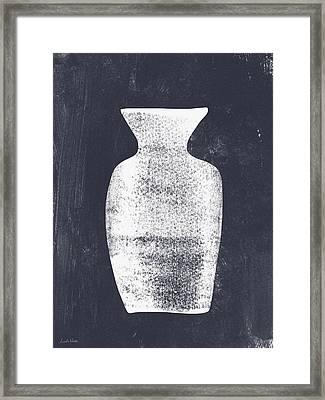 Vessel 2- Art By Linda Woods Framed Print by Linda Woods