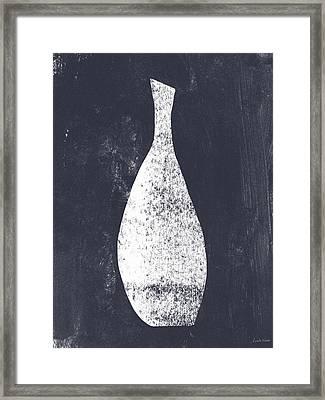 Vessel 3- Art By Linda Woods Framed Print by Linda Woods