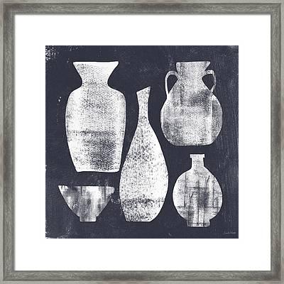 Vessel Sampler- Art By Linda Woods Framed Print by Linda Woods