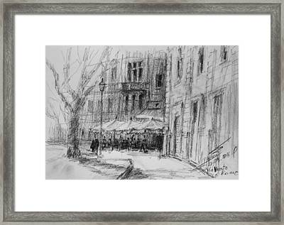 Via Veneto, Rome Framed Print by Ylli Haruni