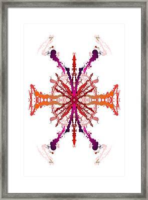 Vibrations Framed Print by Britten Adams